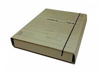 Папка-архиватор Item 315/10PR 40мм 240х320 короб для НОТАРИУСОВ на резин с планками для пи