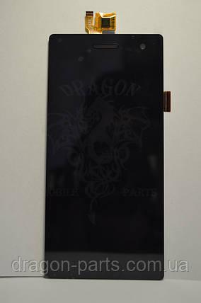 Дисплей с сенсором Bravis OMEGA Black/Черный оригинал., фото 2