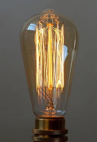 Лампа накаливания Эдисона 40вт ST64 VITO , фото 2