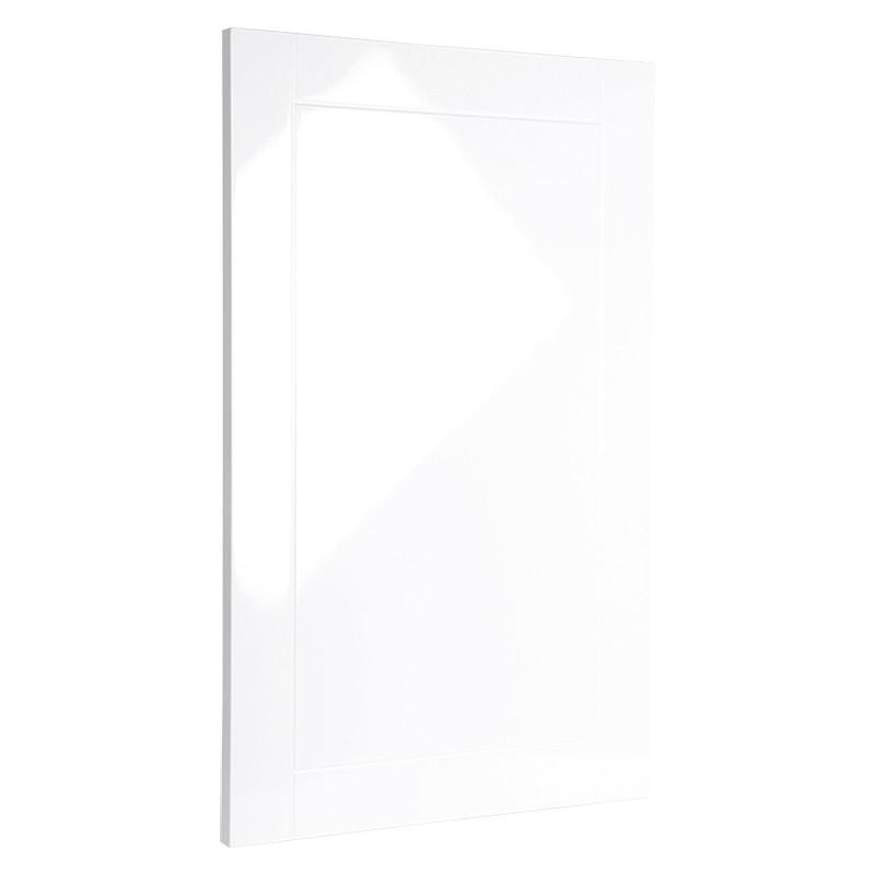 Фасад МДФ Белый глянец 19 мм