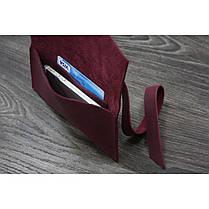 Кожаный чехол для смартфона Виноград, фото 2