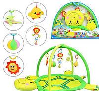 Детский развивающий коврик для младенца Bambi 898-12