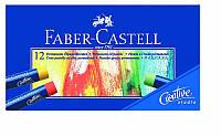 Пастели масляные Faber_Castell 127012 12цветов масляная Goldfaber  кар/уп