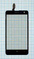 Тачскрин сенсорное стекло для Nokia Lumia 625 black