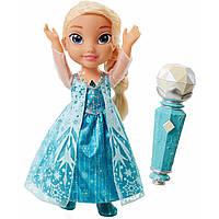 Дисней Фрозен Эльза поющая с ожерельем Frozen Disney's Sing Along Elsa with Light Up Necklace Doll