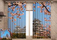 Фото шторы Цветущая сакура