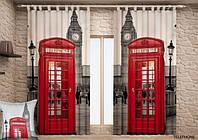 Фото шторы Телефонная будка