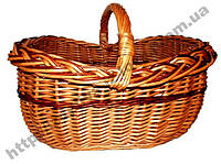Корзина багажовая с косой, фото 1