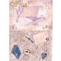 Бумага для декупажа Cheap Art 69301148 21*29,7см, 45г/м2 Любовное письмо