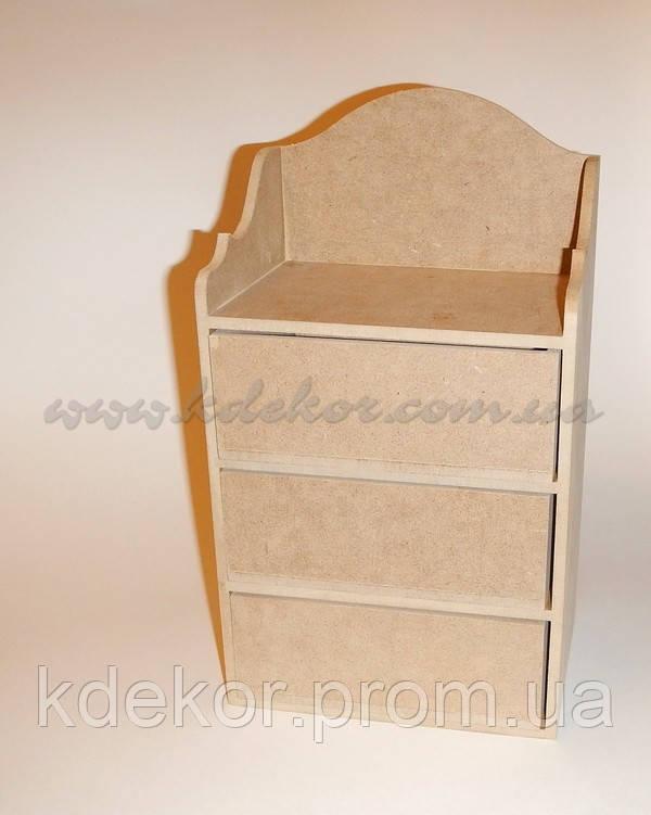 Комод заготовка для декупажа и декора - Интернет-магазин  «KDekor» в Днепре