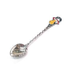 Детская серебряная ложка Пустышка