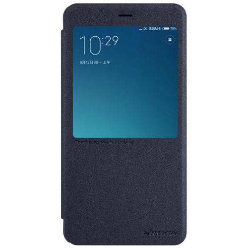 Чехол-книжка Nillkin Sparkle Black для Xiaomi Redmi Note 4