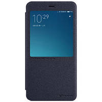 Чехол-книжка Nillkin Sparkle Black для Xiaomi Redmi Note 4, фото 1