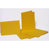 Набор заготовок для открыток Fabriano 94099001 желтый 5шт, 10,3х7cм, №2,220г/м2,