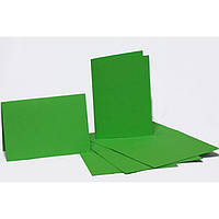 Набор заготовок для открыток Fabriano 94099002 салатовыйовый 5шт, 10,3х7cм, №3,220г/м2,