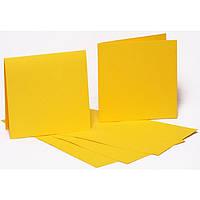 Набор заготовок для открыток Fabriano 94099031 желтый 5шт, 16,8х12см, №2,220г/м2