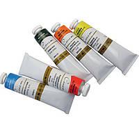 Краски масляные ЗКХ 51103720 (2604720) 1цвет Сонет, 46мл туба Изумрудная