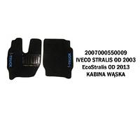 Коврик велюр IVECO STRALIS от 2003, ECO STRALIS от 20013 узкая кабина /2974