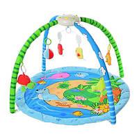 Детский развивающий коврик для младенца Bambi 898-28