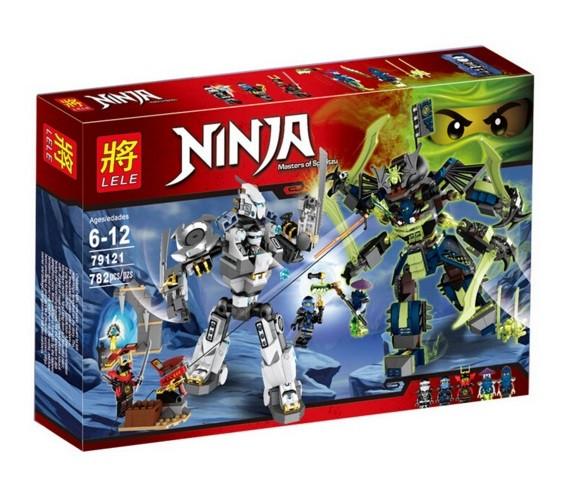 Конструкторы Ninja (Ниндзя, Ninjago)