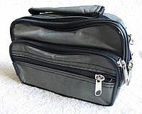 8c0b8d7162af Мужская сумка через плечо Wallaby 2663 хаки барсетка на пояс 19х14х7см