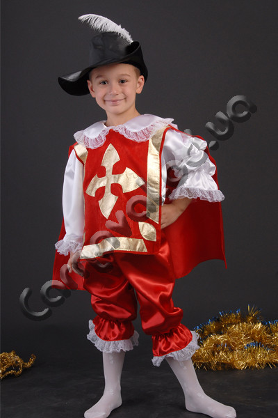Карнавальный костюм Мушкетера (в красном), цена 450 грн ... - photo#6
