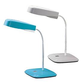 Лампы настольные Deli 3677 голубой 13W 35см ножка на подставке