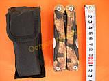 Мультиинструмент Totem АА1 камуфляж с чехлом, фото 5