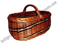 Корзина плетена багажная, фото 1