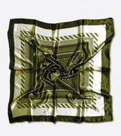 Стильный платок Interference зеленый