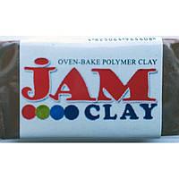 """Глина полим Jam Clay 5018801 коричневый """"Молочный шоколад"""" мягкая (340801)"""