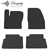 Ford Kuga  2009- Комплект из 4-х ковриков Черный в салон. Доставка по всей Украине. Оплата при получении