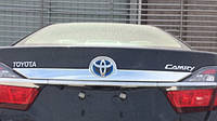 Toyota Сamry V55 хром накладка на крышку багажника верхняя