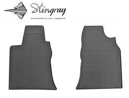 Geely GC 7 2014- Комплект из 2-х ковриков Черный в салон