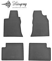 Geely GC 7 2014- Комплект из 4-х ковриков Черный в салон
