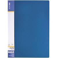 Папка с зажимом Economix 31208-02 синий А4 18мм с боковым прижимом CLIP В Light