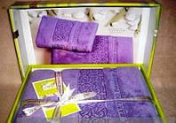 Шикарный подарочный набор полотенец