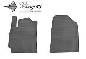 Hyundai Elantra AD 2015- Комплект из 2-х ковриков Черный в салон. Доставка по всей Украине. Оплата при получении
