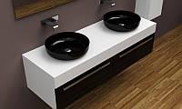Дизайнерская подвесная тумба под раковину, фото 1