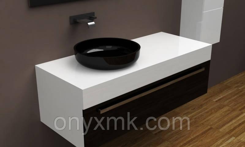 Дизайнерская подвесная тумба под раковину