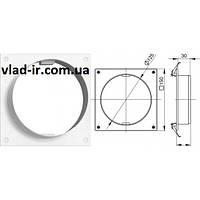 Пластина для круглых каналов 125, фото 1