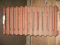 Радиатор чугунный 2К60 П 300мм (85Вт/секц.) 12 секций