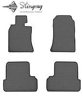MINI Cooper I R50 2001- Задний левый коврик Черный в салон