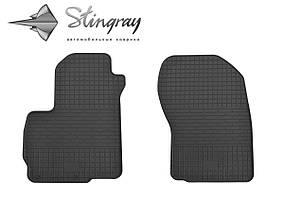 Mitsubishi ASX  2010- Комплект из 2-х ковриков Черный в салон
