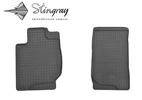 Mitsubishi L200  2007-2015 Комплект из 2-х ковриков Черный в салон. Доставка по всей Украине. Оплата при получении