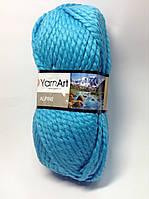 Пряжа alpine - цвет бирюзовый