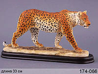 Статуэтка Леопард 33 см полистоун 174-066