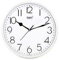 Часы настенные круглые белого цвета