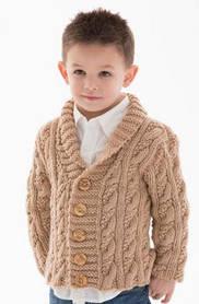 Детские вязанные кофты и свитера для мальчиков оптом