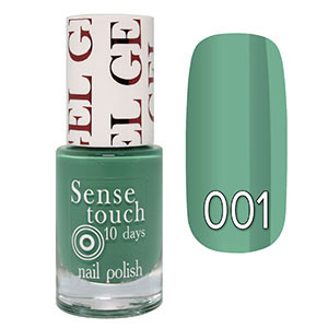 Jovial - Sense Touch Gel Effect Лак для ногтей 10ml Тон №001 (мятный)